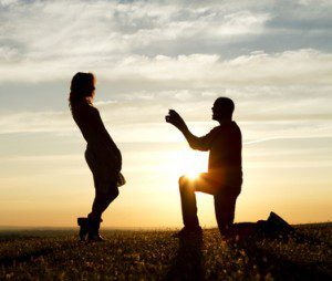 Sunset Proposal with Engaging Dialogue