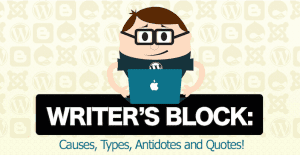 StudyMode Infographic on Overcoming Writer's Block
